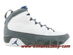 big sale 2eff6 d12eb Air Jordan IX (9) Retro French Blue Flint Grey 302370-141 Chaussures Basket