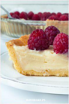 Tarta z malinami - I Love Bake Cooking Recipes, Healthy Recipes, Healthy Food, Baked Goods, Cheesecake, Sweets, Cakes, Drink, Gastronomia