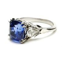 Sapphire ring from one of my favorite jewelry designers