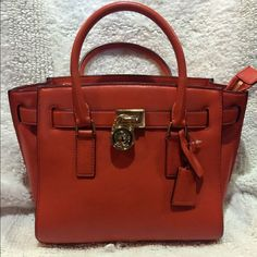 MK Orange bag Worn few in good condition not keep any bag or box ,( I have extra picture on the other list ) MICHAEL Michael Kors Bags