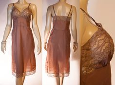 Vintage 1950's luxurious Rhythm Lingerie silky rustly by dreamdate