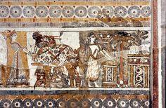 Haghia Triada Sarcophagus, long side with Scene of Calf Sacrifice LM