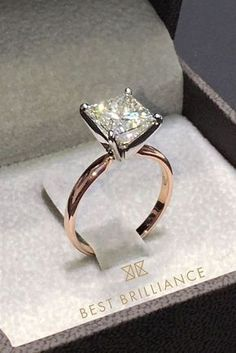 30 Utterly Gorgeous Engagement Ring Ideas ❤️ See more: http://www.weddingforward.com/engagement-ring-inspiration/ #wedding #engagementrings #diamondengagementring