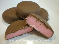 Milk Chocolate Covered Raspberry Creams