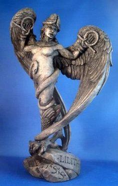 Lilith Lillith Ancient Sumerian Mother Bird Goddess Mythological