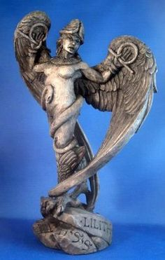 Lilith Lillith Ancient Sumerian Mother Bird Goddess Mythological