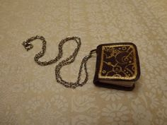 Nov The finished miniature Gallifreyan book necklace. For the Design Every Day Project Book Necklace, Book Art, My Design, 18th, Miniatures, Day, Books, Libros, Book