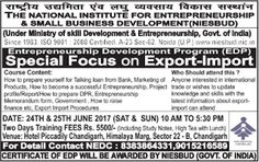 NEDC: Entrepreneurship Empowerment program with special ...