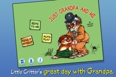 Just Grandpa and Me – Little Critter by Oceanhouse Media ($0.99) Giveaway with @The Appy Ladies!