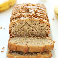 One bowl gluten free banana bread that's easy to make, super moist and hearty, and perfectly sweet thanks to overripe bananas, brown sugar and honey.