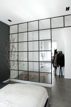 A Cool and Industrial Nordic Style - NordicDesign (Cool Bedrooms Walls) Home Design, Home Interior Design, Interior Architecture, Interior And Exterior, Design Design, Design Trends, Home Bedroom, Modern Bedroom, Nordic Bedroom