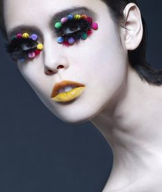 Shu Uemura 30th Anniversary Makeup: Zing (famous Hong Kong makeup artist) Photographer: Tim Wong