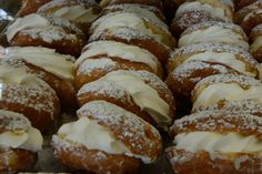 Cream Donuts from Dooher's Bakery in Campbellford, Ontario. YUM!
