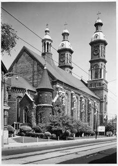 Stanislaus Catholic Church-Mitchell Street and south Street. Milwaukee City, Milwaukee Wisconsin, Roman Catholic, Catholic Churches, Whitefish Bay, Water Tower, Taj Mahal, Beautiful Places, North Shore