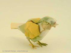 Satoshi Kamiya's incredible work.小鳥 / Little Bird