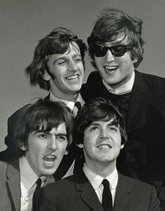 Richard Starkey, John Lennon, George Harrison, and Paul McCartney - Bety Pérez