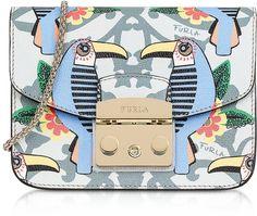 Furla Toni Cielo Aruba Printed Leather Metropolis Small Shoulder Bag $358.00 http://shopstyle.it/l/mA2i