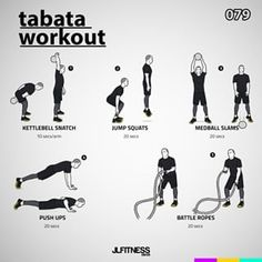 Visual Workouts For Everyone Calisthenics Workout, Tabata Workouts, Amrap Workout, Workout Circuit, Boot Camp Workout, Boxing Workout, Sport Fitness, Mens Fitness, Kettlebell Snatch