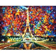 PARIS OF MY DREAMS -  By Leonid Afremov
