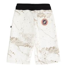 Marble Effect Loose Knit Shorts-product