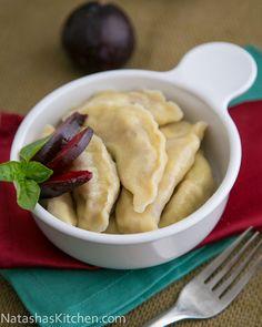 Plum Vareniki (Plum Pierogies)   Russian food, Russian recipes & desserts