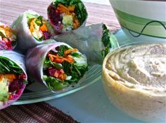 Cool Veggie Wraps Loving On The Marilyn Denis Show - Making Love in the Kitchen