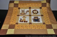 Animal Quilts, Quilting, Baby Quilts, Baby Items, Quilt Patterns, Diy And Crafts, Patches, Blanket, Sewing