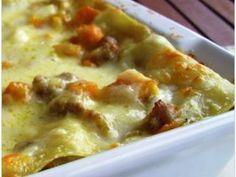 Lasagne con zucca e salsiccia, Ricetta Petitchef