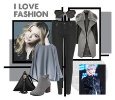 """""""Raven - Fourth Angel"""" by alex99-31 ❤ liked on Polyvore featuring River Island, 7 For All Mankind and Fendi"""