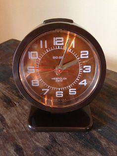 Vintage Alarm Clock Big Ben Westclox Pedestal by StylishPiggy, $35.00