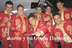 """Aaron y Su Grupo Ilusion (Regional Norteno en la Cumbia) Famosos por las canciones """"EL RELOJ CUCU"""" - """"LLORA MI CORAZON"""" - """"MI CORAZON LLORO"""" y TODO ME GUSTA DE TI"""" entre otras.."""