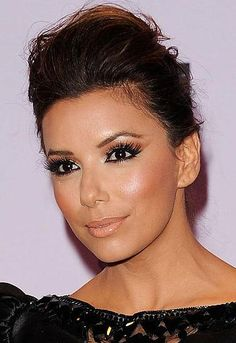 love the makeup for a bridal look - not the lashes