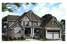 Craftsman - http://www.houseplans.com/2755-square-feet-4-bedrooms-3-bathroom-european-house-plans-2-garage-15488