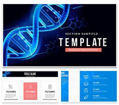 DNA Genetics Keynote Templates