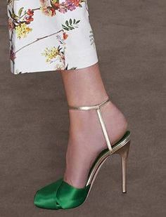 Giambattista Valli Resort 2014 Sandals as seen on Jessica Biel