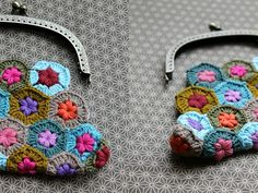 Captivating All About Crochet Ideas. Awe Inspiring All About Crochet Ideas. Crochet Diy, Love Crochet, Crochet Gifts, Crochet Flowers, Crochet Coin Purse, Crochet Purses, Crochet Bags, Purse Patterns, Crochet Patterns