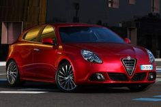 Alfa Romeo Guilietta - this is the car I wish Fiat would have brought over...
