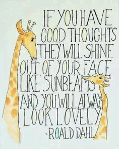Lovely quote from Roald Dahl - Sew Scrumptious Fabrics