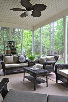 Finding Fabulous: Springtime, our screened porch & a few plant loves...