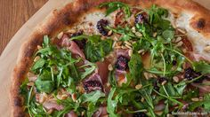 Prosciutto, Blackberry, Arugula and Burrata Neapolitan Pizza