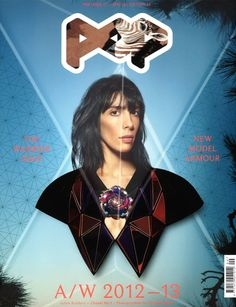 Great Visual Design - Jamie Bochert & Sui He Are a Head Above the Rest for Pops F/W 2012 Covers