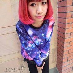 Sudadera galaxia / galaxy sweatshirt wh342