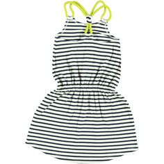 cute beachdress for girls #Jurk Blueberry Stripes