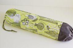 Fabric Plastic Bag Holder / Grocery Bag Holder / Black & by SUZUYA