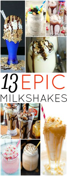 Looking to add a little sweetness to your life? These 13 Epic Milkshakes are just the place to start!
