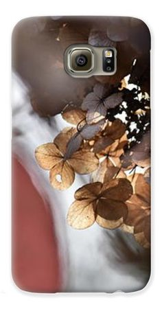 Abstracted Autumn Hydrangeas phone cover by Rowena Throckmorton. Protect their new iPhone or Galaxy with an impact-resistant, slim-profile, hard-shell case. The image is printed directly onto the case and wrapped around the edges for a beautiful presentation.
