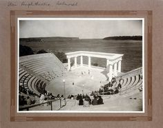 The Star of the Sea Amphitheatre at Balmoral, Sydney was built with private funds to provide a venue for the teachings of J. Krishnamurti, who some saw as a future World Teacher. As far as is known he gave only one lecture in the amphitheatre. Roman Theatre, World Teachers, North Shore, Old Photos, Sydney, Past, History, Beach, Theatres