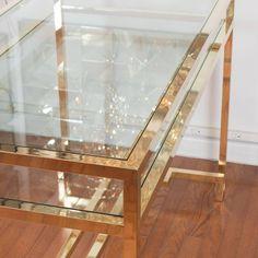 Stylized Brass Desk 4