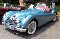 1957 Jaguar XK140  <3