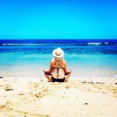 This beach all to myself  #fiji #beach #travel #wanderlust #meditate #yoga #hellosunshine #islandlife #namaste